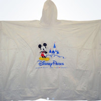 disney parks lightweight rain poncho mickey mouse new