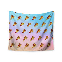 "Juan Paolo ""Lucid Pizza"" Food Pattern Wall Tapestry"