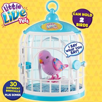 Little Live Pets Bird And Cage | Toys R Us