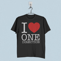 Men T-Shirt - I Love One Direction