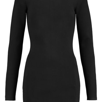 Cutout stretch-knit turtleneck mini dress | Dion Lee | US | THE OUTNET