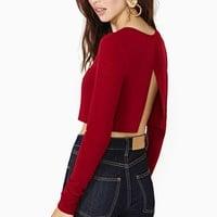 Easy Does It Crop Tee