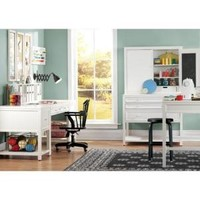 Martha Stewart Living, Picket Fence 31.5 in. H White Craft Space Table, 0463410400 at The Home Depot - Mobile