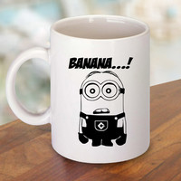 Minion Banana Mug and Cup / Custom Mug / Custom Cup