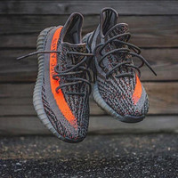 Adidas Yeezy 550 Boost 350 V2 Fashion Women Running Sneakers Sport Shoes