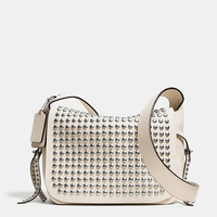 RIVETS FLAP DAKOTAH CROSSBODY IN LEATHER