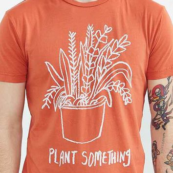 Notes Plant Something Tee- Burnt Orange