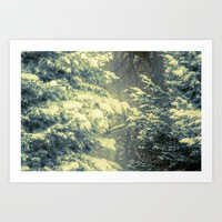 Just One Touch Art Print by Faded  Photos