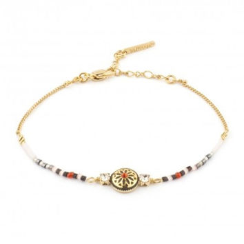 Indian Amazon White Bracelet by Satellite Paris