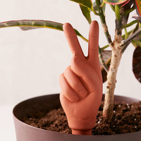 Peace Sign Self-Watering Plant Stake | Urban Outfitters