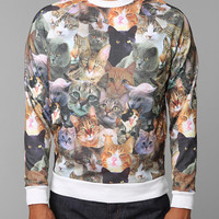 Cats On Cats Pullover Sweatshirt