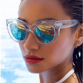 Quay Jinx Sunglasses in Clear as seen on Shay Mitchell and Gwen Stefani | Boutique To You