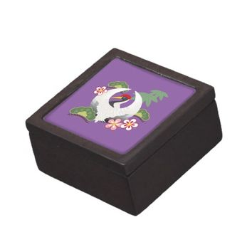 Good Luck Keepsake or Jewelry Box: Cute Japanese-Style Gift Box