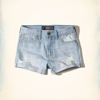 Hollister High-Rise Denim Short-Shorts