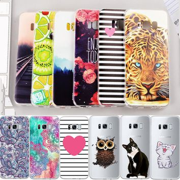 Soft TPU Pattern Phone Case For Samsung Galaxy J3 J5 J7 Prime J1 Mini 2016 For Samsung A3 A5 A7 J5 J7 J3 2017 Back Cover Coque