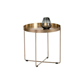CHILL SMALL ROSE GOLD SIDE TABLE