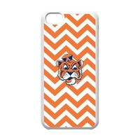 Playcase-Cool Auburn Tigers Custom Flip Case Cover Protector for Apple iPhone 5c,NCAA Auburn Tigers Best Durable Cover Case
