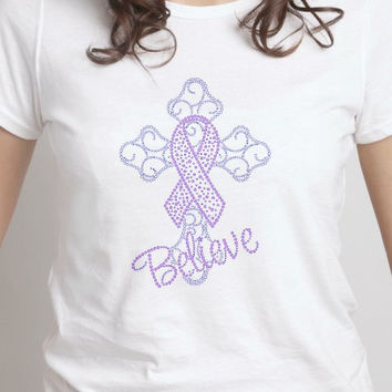 Believe Breast Cancer Awareness Shirt