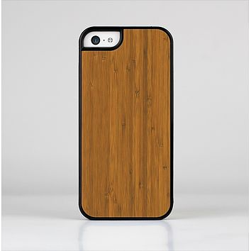 The Real Bamboo Wood Skin-Sert for the Apple iPhone 5c Skin-Sert Case