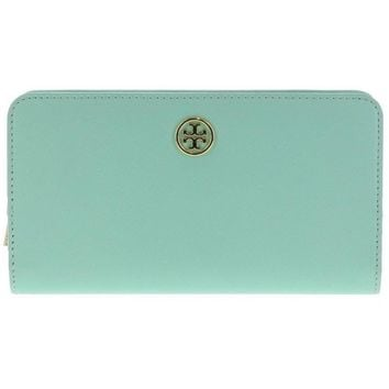 Tory Burch Robinson Hidden Zip Continental Wallet Oversize