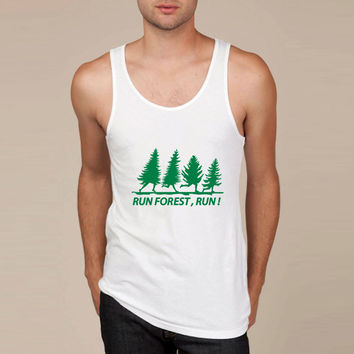 run forest Tank Top