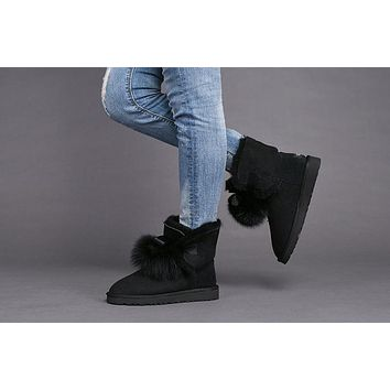 Best Deal Online UGG Limited Edition Classics Black Boots GITA Women Shoes 1018517