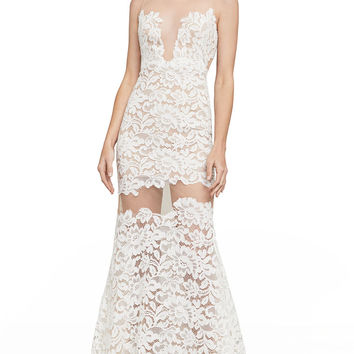 Rayna Floral Lace Gown