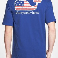 Men's Vineyard Vines 'American Flag Whale' Graphic T-Shirt,