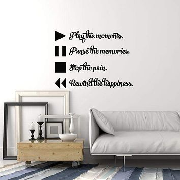 Vinyl Wall Decal Musical Art Music Quote Teen Room Decor Interior Stickers Mural (ig5716)