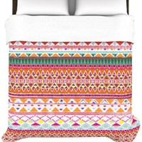 Kess InHouse Nika Martinez Chenoa 68 by 88-Inch Duvet Cover, Twin