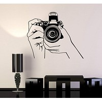 Vinyl Wall Stickers Photo Photography Photograph Journalist Decal Unique Gift (185ig)
