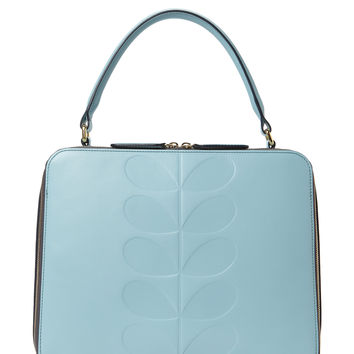 Orla Kiely Women's Bethan Shoulder Bag - Blue