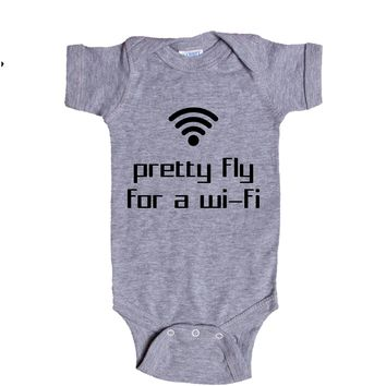 Pretty Fly For A WiFi Baby Onesuit