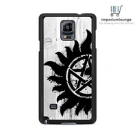 anti possession on Wood For Samsung Galaxy Note 3 | 4 Case