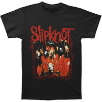 Slipknot Men's  Band Frame T-shirt Black Rockabilia
