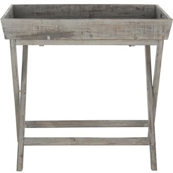 Neil Accent Table - Tv Tray Table - Accent Table With Removable Tray | HomeDecorators.com