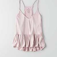 AEO Soft & Sexy Babydoll Tank, Light Pink