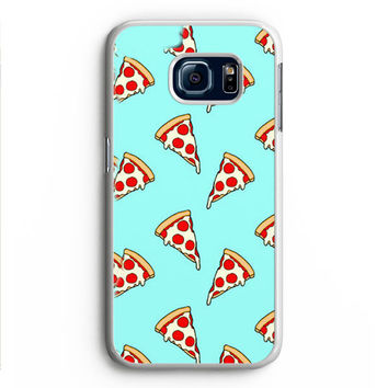 Pastel Pizza Slices Samsung Galaxy S6 Edge Case Aneend