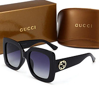 GUCCI classic ladies big box was thin polarized hipster sunglasses