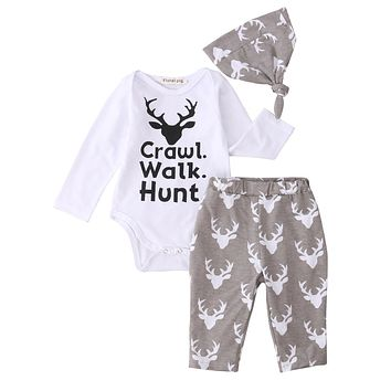 Crawl, Walk, Hunt 3-Piece Set