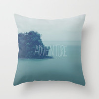 Adventure Island Throw Pillow by Leah Flores | Society6