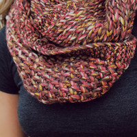 Spiced Pecans Infinity Scarf