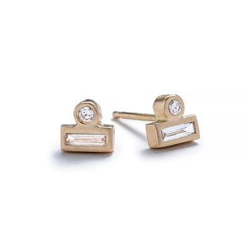 Ipsum stud earrings