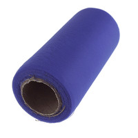 Premium Tulle Spool Roll, 6-inch, 25-yard, Royal Blue