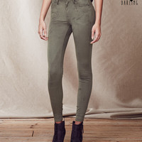 Tokyo Darling High-Waisted Sueded Jegging