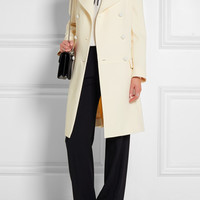 Chloé - Double-breasted wool-crepe coat
