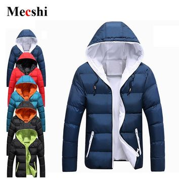 Winter Jacket Men Down Jacket Mens Hooded Jackets Winter Wear Men Winter Warm Coat  Cotton Casaco Puffer Jacket Parka Fall
