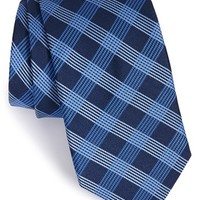 Men's Michael Kors 'Pastoral' Plaid Silk Tie