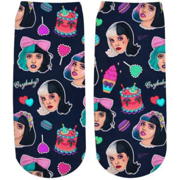 Melanie Martinez ankle socks