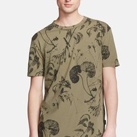 Men's Paul Smith Jeans Floral Print T-Shirt